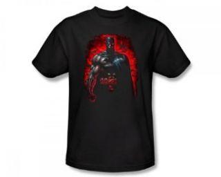 Batman DC Comics Red Bat Swarm Comic Book Adult T Shirt