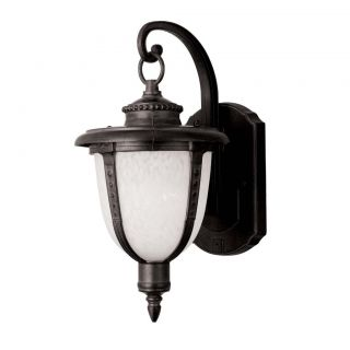 Outdoor 1 light Black Wall Light