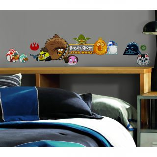 Angry Birds Star Wars Peel and Stick Wall Decals (Pack of 24) Today $