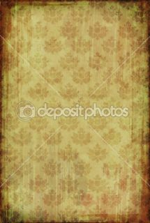 Vintage wallpaper with floral pattern  Foto Stock © Elisanth