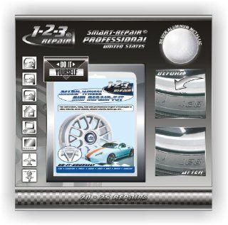 Alloy Wheel Repair   Rim Repair   Curb Damage Repair   Kit SILVER alu