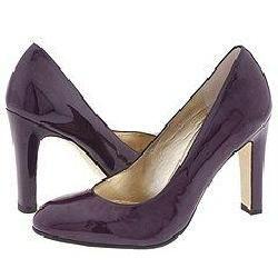 Taryn Rose Cassian Maroon Patent Pumps/Heels
