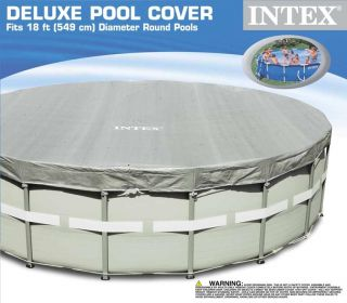 Intex Deluxe Round Pool Cover (18 x 8)