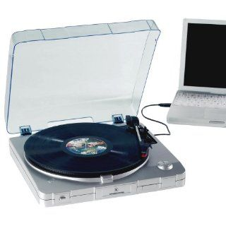 : Innovative Technology ITUT 201 USB Turntable (silver): Electronics