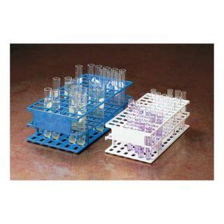 Nalgene 5972 0013 Test Tube Half Rack, 36 Slots, 13mm, White