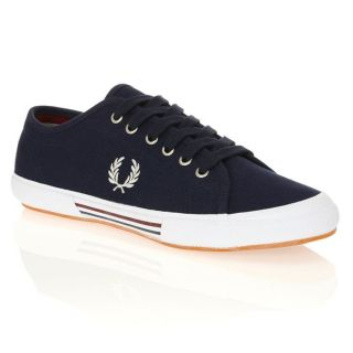 FRED PERRY Baskets Vintage Tennis Canvas Homme Marine.   Achat / Vente