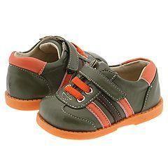 See Kai Run Kids Nicholas (Infant/Toddler) Dark Green/Orange/Brown