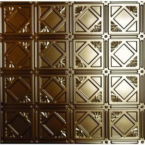 Global Specialty Products 207 03 Tin Look Nonsuspended Ceiling Tile