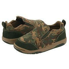 Stride Rite Riley Slip On (Infant/Toddler) Camo Print Suede