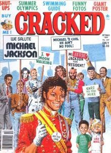 Cracked Magazine (Comic #207) We Salute Michael Jackson Cracked
