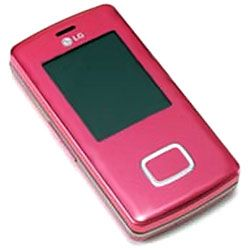 LG KG800 / MG280 Chocolate GSM Sexy Pink Cell Phone