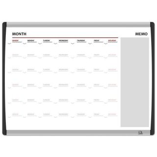 Quartet Magnetic Dry erase Arc Series Planner Board