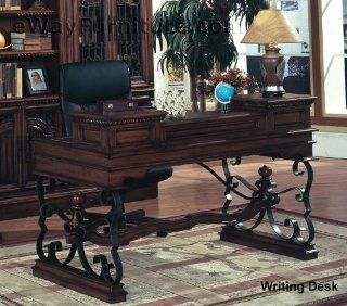 Elegant Spanish Revival Style Mabella Home Office Writing