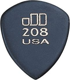 Dunlop JD Jazzone 208 Guiar Picks 6 Pack Musical