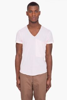 3.1 Phillip Lim Pink Pocket T shirt for men