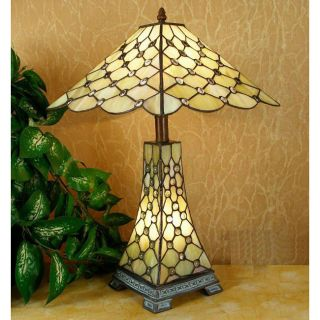 Tiffany style Simple Jewel Double Lit Lamp