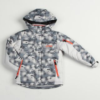 London Fog Boys Grey Snowboard Jacket