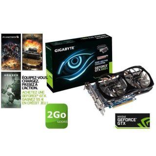 Gigabyte GTX650 Ti 2Go GDDR5 OC   Achat / Vente CARTE GRAPHIQUE
