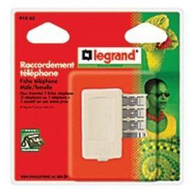 ALIMENTATION TELEPHONE Raccordement téléphone gigogne 8 contacts
