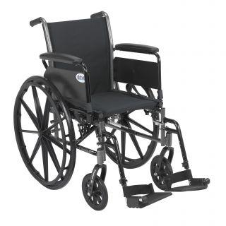 Drive Medical Cruiser III Black Lightweight Wheelchair Today $200.99