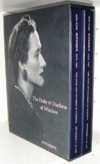 The Duke & Duchess of Windsor: Sothebys: Books