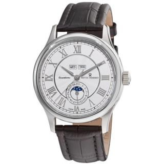 Revue Thommen Mens Moonphase Silver Face Full Calendar Watch Today
