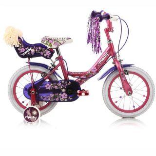 MULTBIKE Vélo Fille Molly 14   Achat / Vente VELO DE VILLE   PLAGE