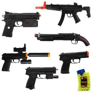 WOW 21 BRAND NEW AIRSOFT GUNS PISTOLS, SHOTGUNS, AND