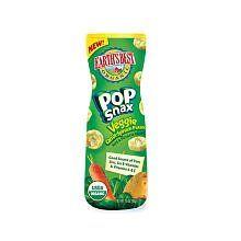 Earths Best Organic Pop Snax Rice & Potato Crisps   Veggie (Potato