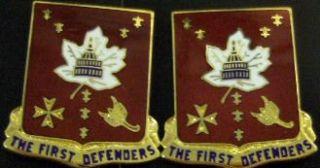 213th ADA The First Defenders Distinctive Unit Insignia
