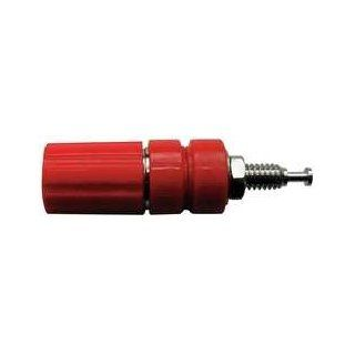 Industrial Grade 5TWZ7 Binding Post, Red Industrial