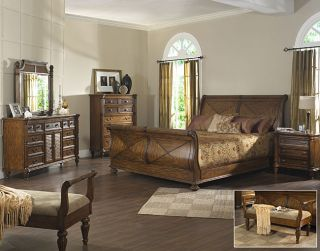 Sea Breeze 5 piece Queen Bedroom Se