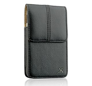 Samsung Solstice II A817 Executive Vertical Leather Belt Clip Carrying