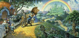 Sunsout Wizard of Oz 1000 Piece Jigsaw Puzzle Toys