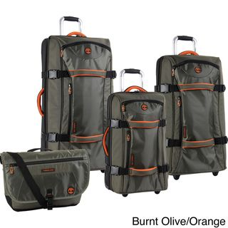 Timberland Twin Mountain 4 piece Luggage Set