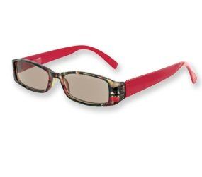 BRICK RED & SWIRLING Brown Reading Sunglasses   Cheaters