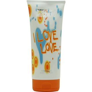 Moschino I Love Love Womens 6.7 oz Body Lotion
