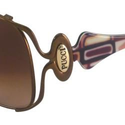 Emilio Pucci Womens EP104S Rectangular Sunglasses