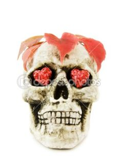 Love Halloween with scary skull  Stock Photo © Eireann #1156666