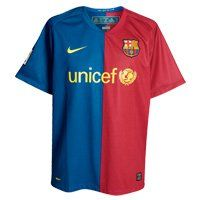 Nike FCB Barcelona Soccer Jersey Football Sz (Small