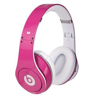 Monster Beats by Dr. Dre Studio HD Headphones (Pink)