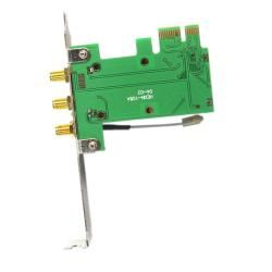 Mini PCI E to PCI E 3 Antenna Wi fi Wireless Adapter