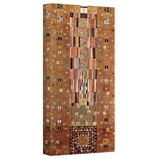 Gustav Klimt Abstract Frieze Gallery Wrapped Canvas Today $44.99