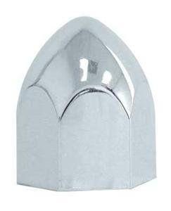 10 Chrome ABS Plastic Lug Nut Covers for 9/16 Lug Nuts