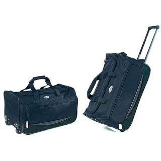 Overland Travelware 22 inch Rolling Carry On Upright Duffel Bag MSRP