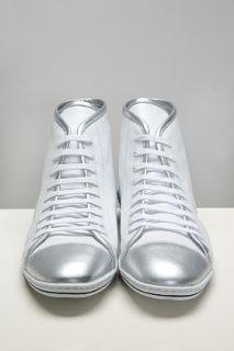 Swear  Grant 41 White/silver Leather Sneaker for men
