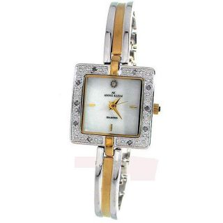 AK Anne Klein Womens Diamond Bracelet Watch