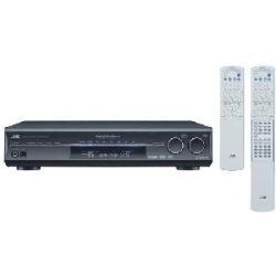 JVC RX D302B 110W per Channel A/V Control Receiver (Refurbished