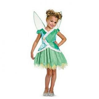 Tinkerbell Secret Of The Wings Classic Child Costume Size