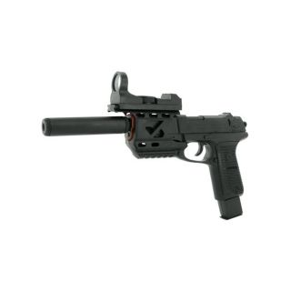 Spring Tactical P89 Pistol FPS 140 Silencer Airsoft Gun